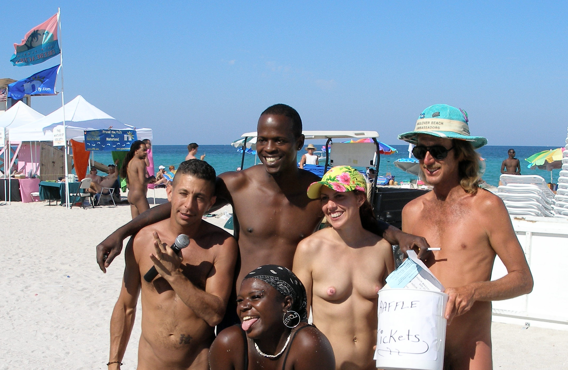 Haulover Beach Nudist Groups